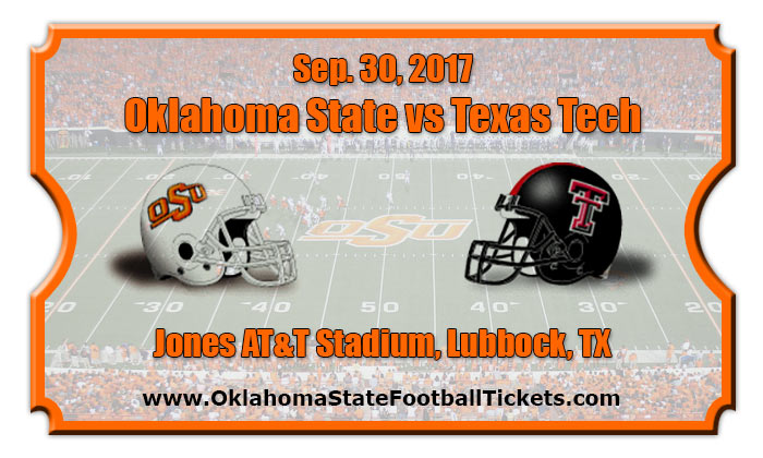 2017 Oklahoma State Vs Texas Tech