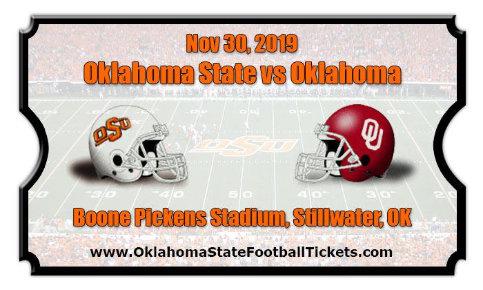 Oklahoma State Cowboys vs Oklahoma Sooners Football ...